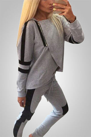 The Fitness Freak Patchwork Tracksuit
