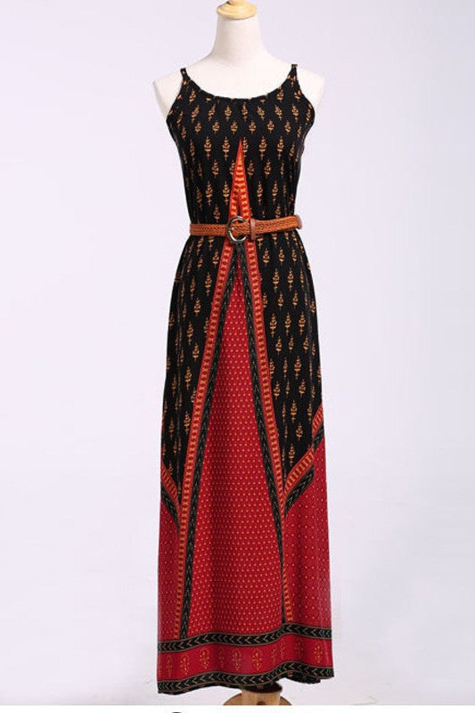 Going to the Beach Ethnic Bohemian Summer Dress