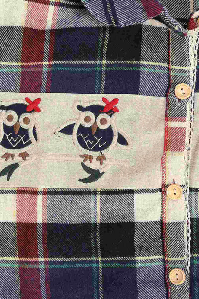 Have Some Fun Owl Printed Shirt