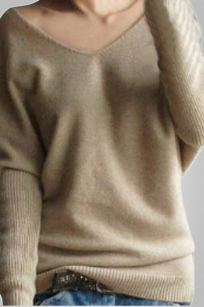 So-Now Trendy Knitted Pullover