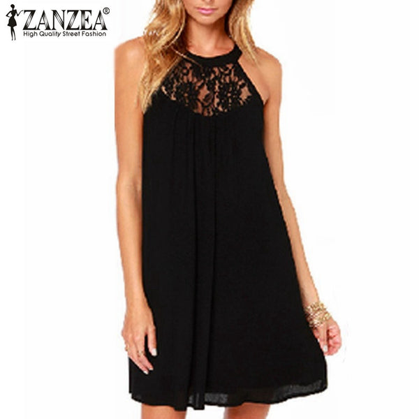 Rock The Night Lace Loose Party Dress
