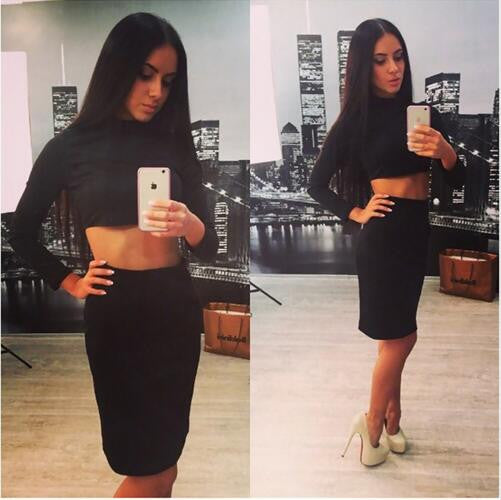 Always Right Fashionable Two Piece Dress