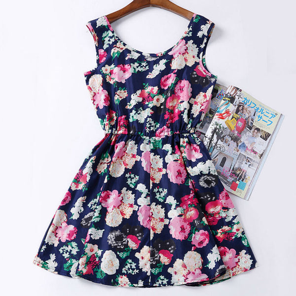 Coz Life IS Fun Floral Bohemian Dress