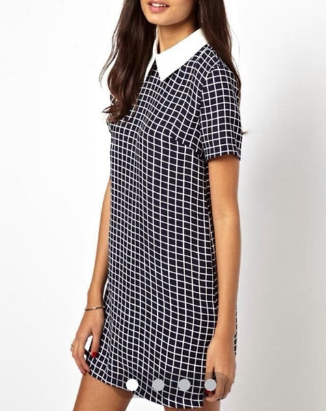 Love Me Forever Collared Dress