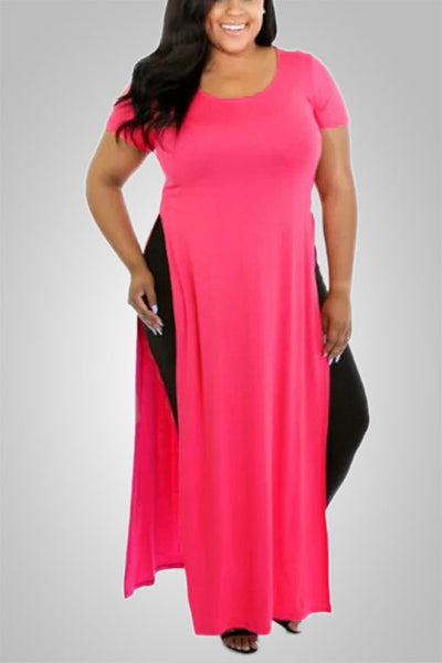 Cute and Hot Side Split Maxi Dress