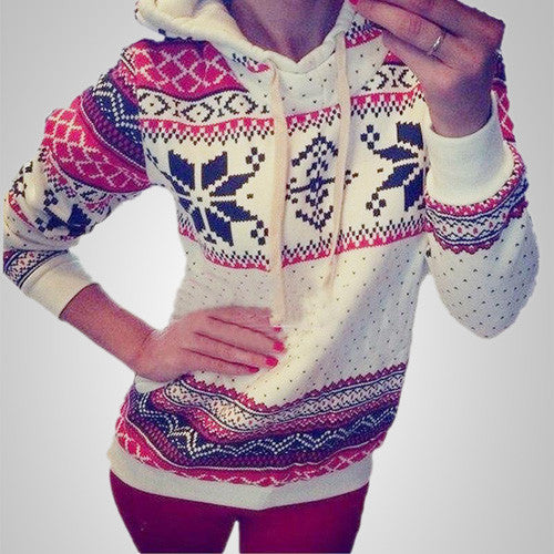 Snowball Love Long Sleeve fashionable Pullover