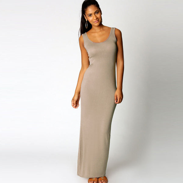 No Strings Attached Long Maxi Dress