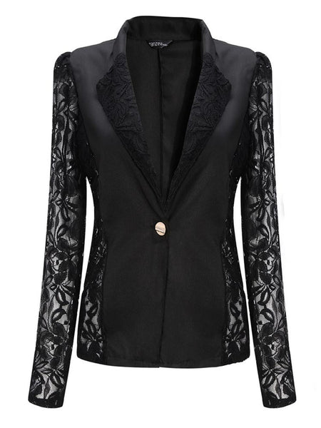 Dream Never Ends Lace Smart Blazer