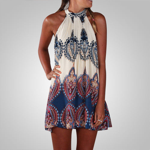 Be Unique Printed Loose Dress