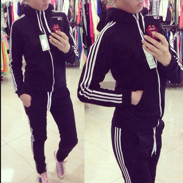 Sporty Me Hooded Tracksuit