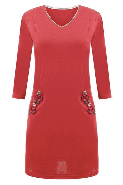 Young & Free Embellished Party Dress