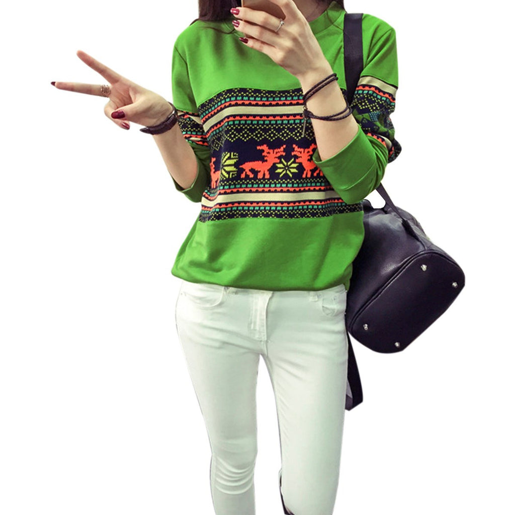 Trendy Full Sleeve Printed Sweatshirt