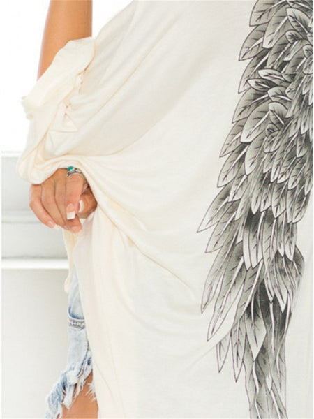 Angel Wings Elegant Autumn Cardigan