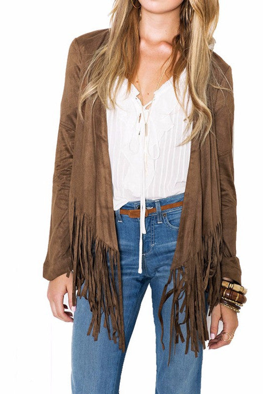 Fringy Punk Cool Casual Jacket
