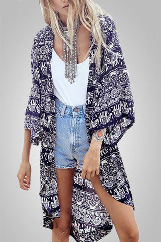 In Love With Summer Floral Boho cardigan
