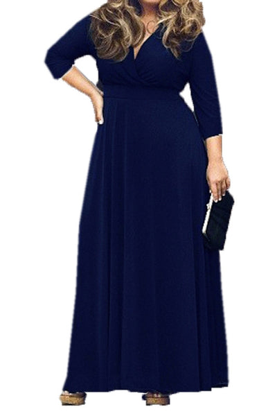 Vintage Classic Long Maxi Dress