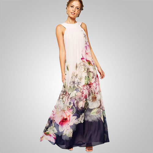 Nature Love Classic Floral Dress