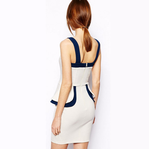 Sleeveless Lady Spaghetti Night Clubwear