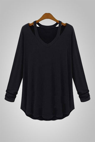 Autumn Crush Off Shoulder Blouse