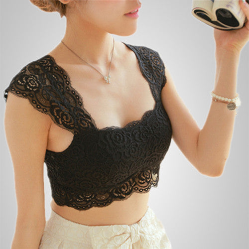 Accentuate Your Looks Lace Strap Bra