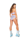 Roma Rave 3841 - 1pc High-Waisted Shorts-Rave Shorts-Roma-Unspoken Fashion
