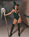 Roma 4964 - 2pc Wicked Witch Costume-Costumes-Roma-Unspoken Fashion