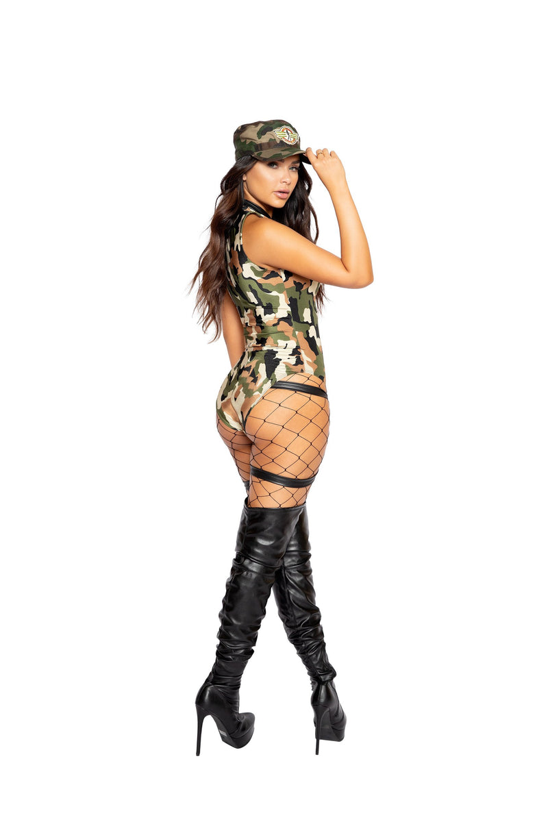 Roma 4986 - 1pc Army Hottie Costume-Costumes-Roma-Unspoken Fashion