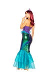 Roma 4995 - 3pc Majestic Mermaid Costume-Costumes-Roma-Unspoken Fashion