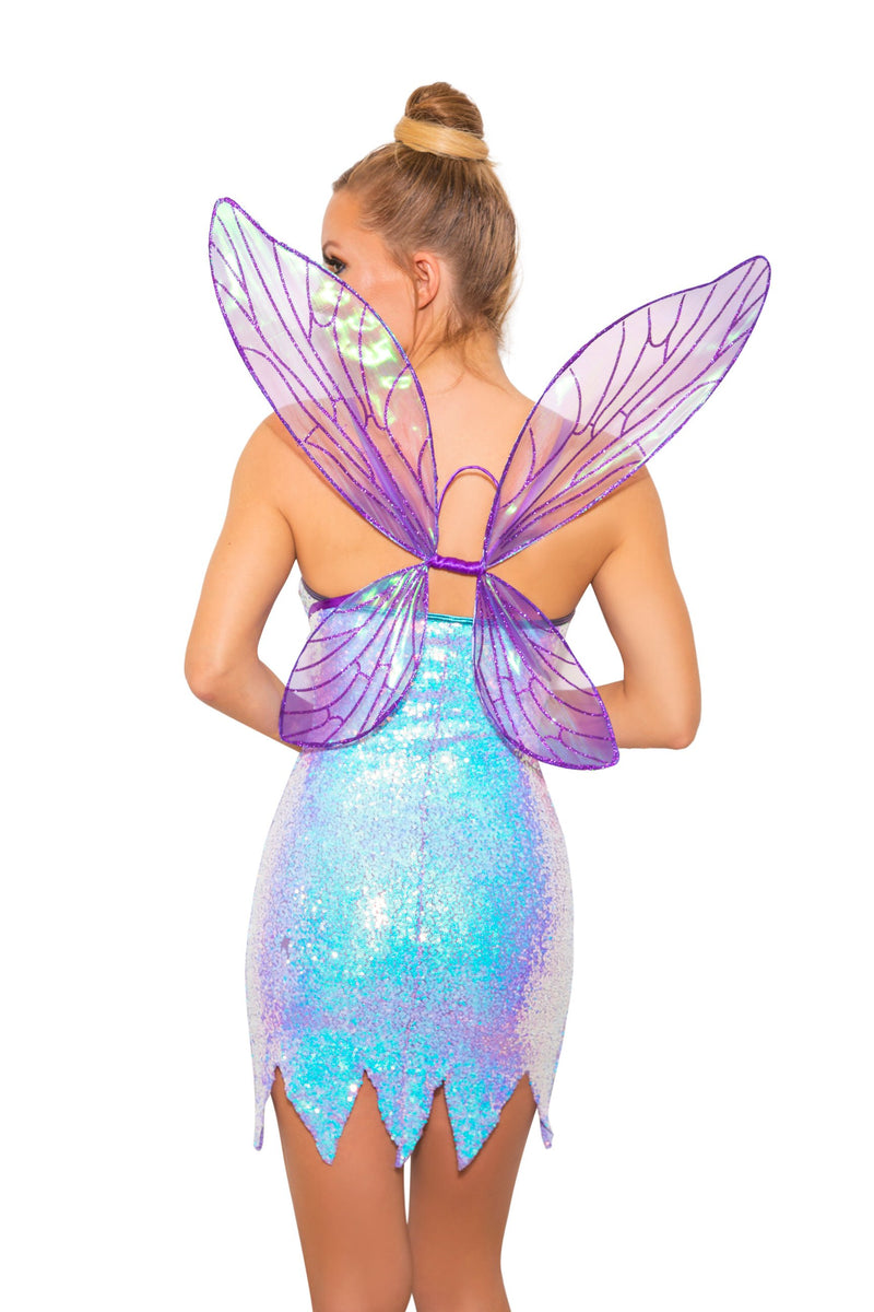 Roma 5010 - 2pc Twinkle Fairy Dust Costume-Costumes-Roma-Unspoken Fashion