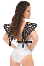 Load image into Gallery viewer, Black Patent Body Harness w/Wings-Body Harnesses-Daisy Corsets-Unspoken Fashion