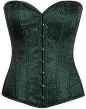Load image into Gallery viewer, Daisy Corsets Lavish Dark Green Brocade Corset-Corsets-Daisy Corsets-Unspoken Fashion