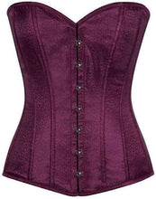 Load image into Gallery viewer, Daisy Corsets Lavish Plum Brocade Corset-Corsets-Daisy Corsets-Unspoken Fashion