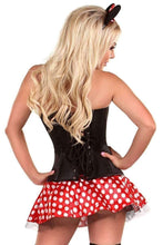 Load image into Gallery viewer, Daisy Lavish 3 PC Flirty Mouse Corset Costume-Costumes-Daisy Corsets-Unspoken Fashion