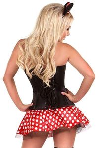 Daisy Lavish 3 PC Flirty Mouse Corset Costume-Costumes-Daisy Corsets-Unspoken Fashion