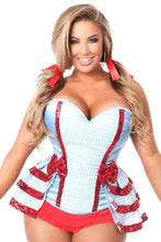 Load image into Gallery viewer, Daisy Lavish 3 PC Kansas Girl Corset Costume-Costumes-Daisy Corsets-Unspoken Fashion