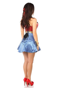Daisy Lavish 3 PC Superhero Corset Dress Costume-Costumes-Daisy Corsets-Unspoken Fashion