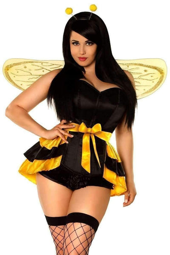 Daisy Lavish 4 PC Queen Bee Corset Costume-Costumes-Daisy Corsets-Unspoken Fashion
