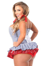 Load image into Gallery viewer, Daisy Top Drawer 2 PC Sequin Kansas Girl Corset Dress Costume-Costumes-Daisy Corsets-Unspoken Fashion