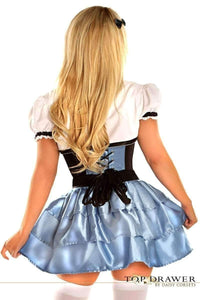 Daisy Top Drawer 4 PC Alice Corset Costume-Costumes-Daisy Corsets-Unspoken Fashion