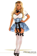 Load image into Gallery viewer, Daisy Top Drawer 4 PC Alice Corset Costume-Costumes-Daisy Corsets-Unspoken Fashion
