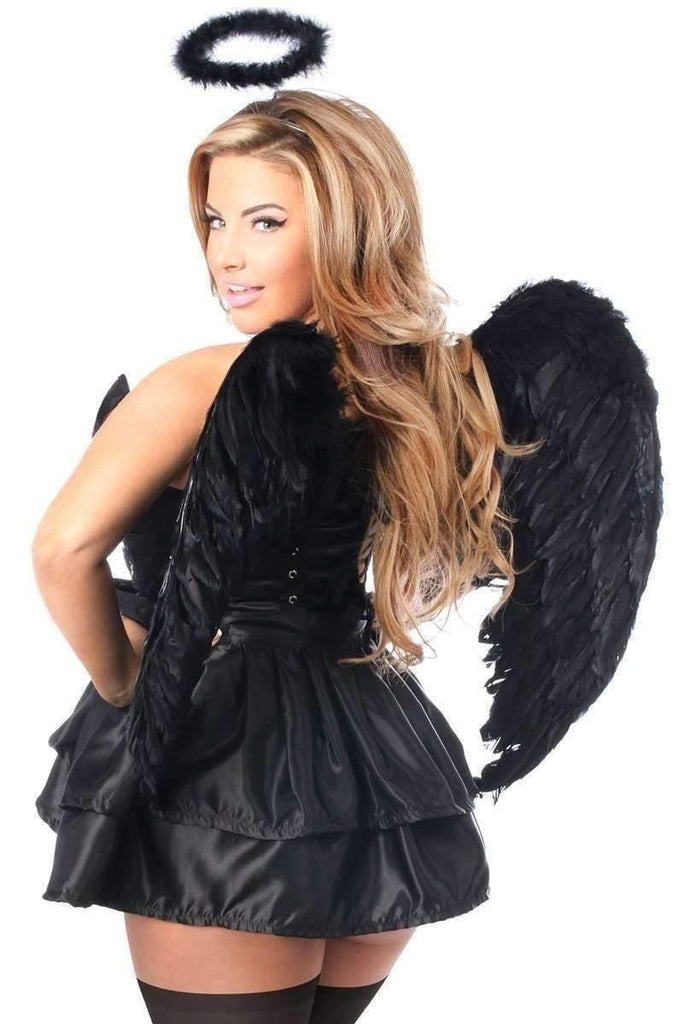 Daisy Top Drawer 4 PC Fallen Angel Corset Costume-Costumes-Daisy Corsets-Unspoken Fashion