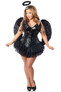 Daisy Top Drawer 4 PC Sequin Night Angel Corset Costume-Costumes-Daisy Corsets-Unspoken Fashion