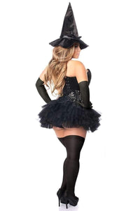 Daisy Top Drawer 4 PC Sexy Witch Corset Costume-Costumes-Daisy Corsets-Unspoken Fashion