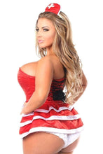 Load image into Gallery viewer, Daisy Top Drawer 5 PC Flirty Nurse Corset Costume-Costumes-Daisy Corsets-Unspoken Fashion