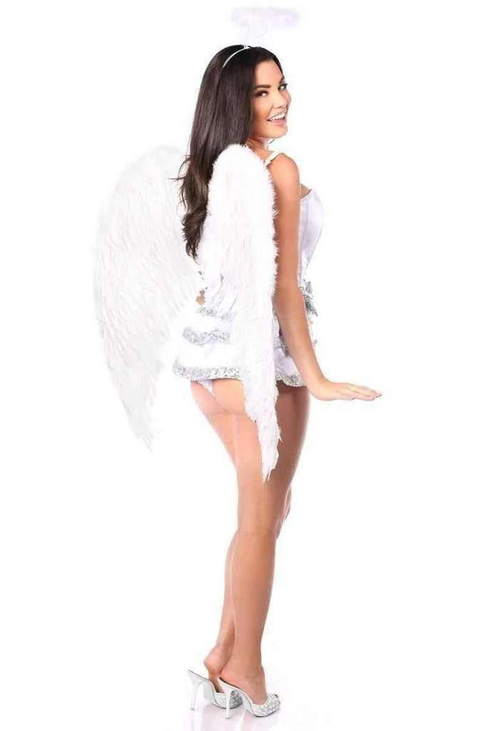 Daisy Top Drawer 5 PC Innocent Angel Corset Costume-Costumes-Daisy Corsets-Unspoken Fashion
