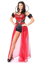Load image into Gallery viewer, Daisy Top Drawer 5 PC Sexy Fairytale Red Queen Corset Costume-Costumes-Daisy Corsets-Unspoken Fashion