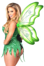 Load image into Gallery viewer, Daisy Top Drawer Green Sequin Fairy Corset Dress Costume-Costumes-Daisy Corsets-Unspoken Fashion