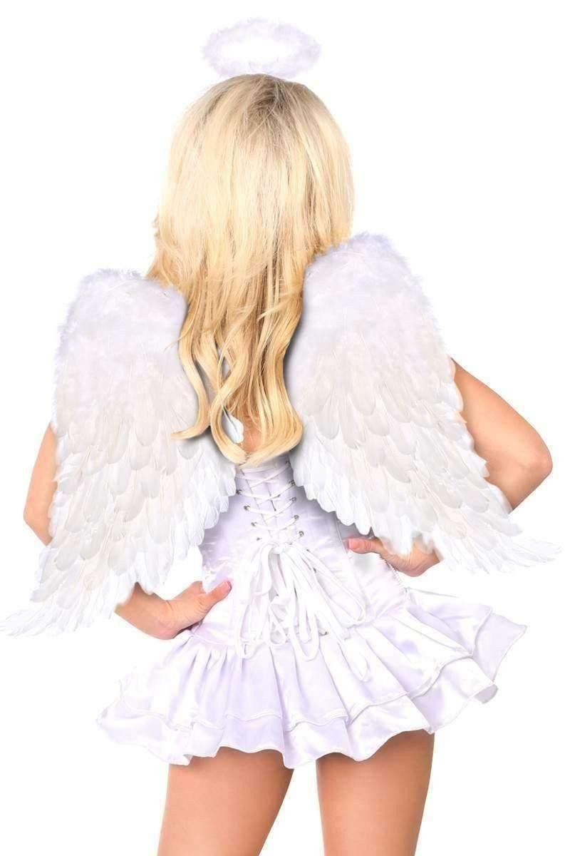 Daisy Top Drawer Innocent Angel Corset Dress Costume-Costumes-Daisy Corsets-Unspoken Fashion