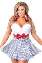 Load image into Gallery viewer, Daisy Top Drawer Kansas Girl Corset Dress Costume-Costumes-Daisy Corsets-Unspoken Fashion
