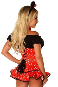 "Daisy Top Drawer ""Miss Mouse"" Corset Costume-Costumes-Daisy Corsets-Unspoken Fashion"
